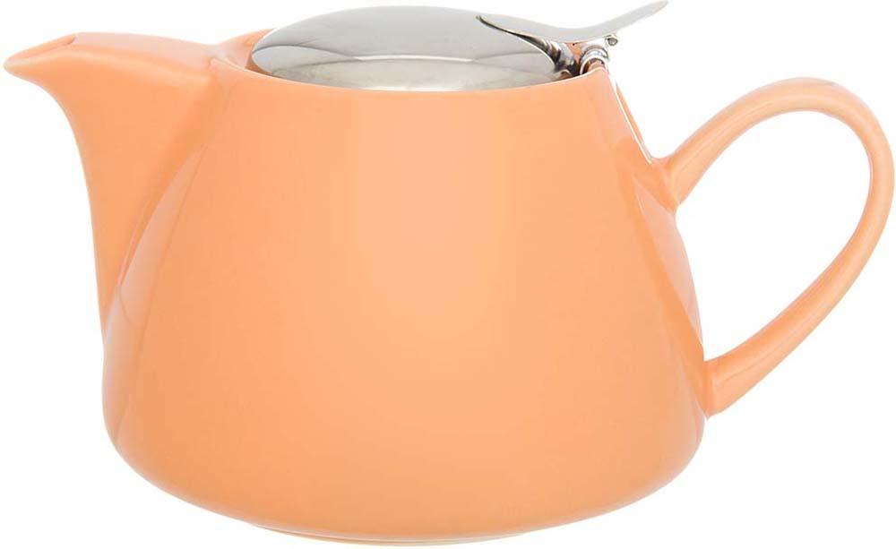 """Чайник заварочный """"Elan Gallery"""" изготовлен из высококачественного фарфора оснащен  металлическим ситом, удобной ручкой и широким носиком. В  основании носика сделаны фильтрующие отверстия от попадания чаинок в чашку.Чайник  станет отличным подарком родным и близким."""