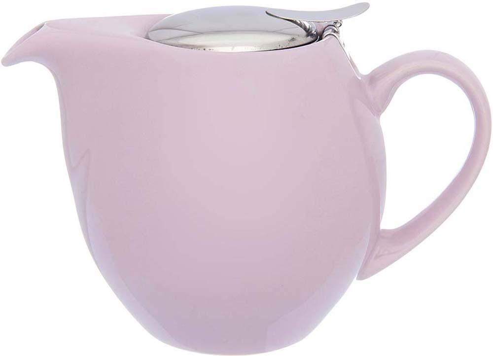 Изящный вместительный чайник объемом 900 мл с удобной ручкой и широким носиком. Изделие имеет подарочную упаковку.
