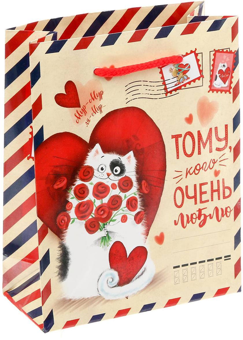 Пакет подарочный Дарите Счастье Почта любви, цвет: мультиколор, 11 х 5 х 14 см. 14995721499572Любой подарок начинается с упаковки. Что может быть трогательнее и волшебнее, чем ритуал разворачивания полученного презента. И именно оригинальная, со вкусом выбранная упаковка выделит ваш подарок из массы других. Она продемонстрирует самые теплые чувства к виновнику торжества и создаст сказочную атмосферу праздника - это то, что вы искали. Невозможно представить нашу жизнь без праздников! Мы всегда ждем их и предвкушаем, обдумываем, как проведем памятный день, тщательно выбираем подарки и аксессуары, ведь именно они создают и поддерживают торжественный настрой - это отличный выбор, который привнесет атмосферу праздника в ваш дом!