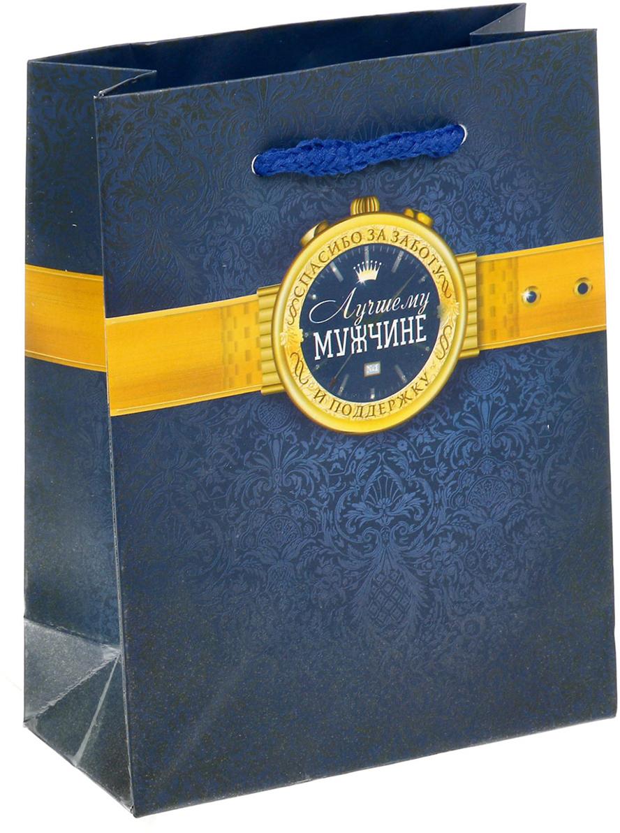 Пакет подарочный Дарите Счастье С благодарностью!, цвет: мультиколор, 11 х 5 х 14 см. 15029771502977Любой подарок начинается с упаковки. Что может быть трогательнее и волшебнее, чем ритуал разворачивания полученного презента. И именно оригинальная, со вкусом выбранная упаковка выделит ваш подарок из массы других. Она продемонстрирует самые теплые чувства к виновнику торжества и создаст сказочную атмосферу праздника - это то, что вы искали.
