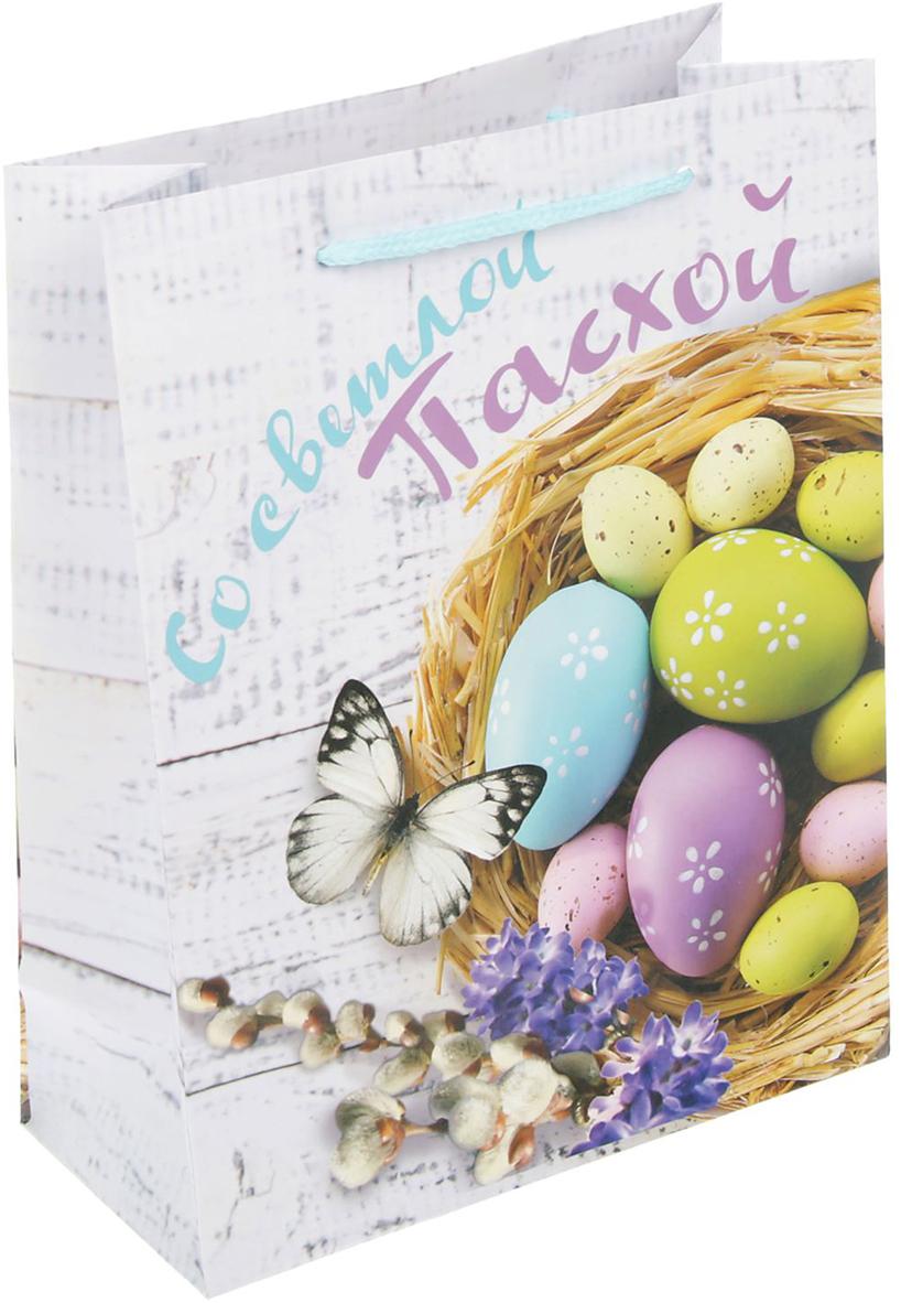 Пакет подарочный Дарите Счастье Со светлой Пасхой, 18 х 8 х 23 см пакет подарочный sima land со светлой пасхой 18 х 23 х 8 см