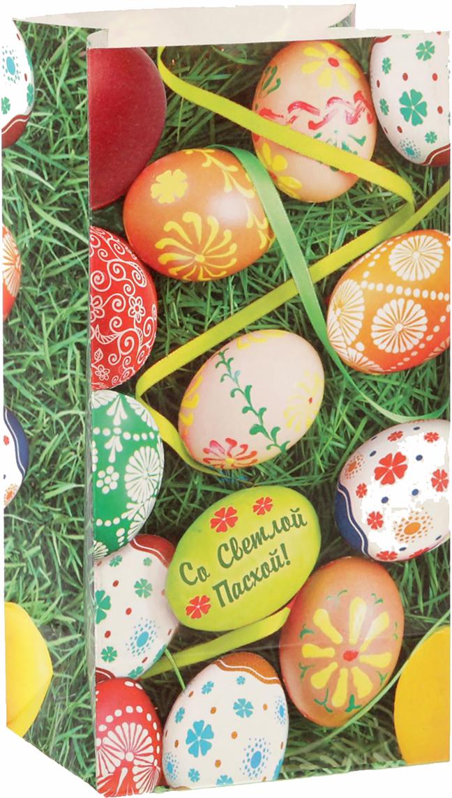 Пакет подарочный Дарите Счастье Пасхальное угощение, цвет: мультиколор, 10 х 7 х 19,5 см. 16202671620267Любой подарок начинается с упаковки. Что может быть трогательнее и волшебнее, чем ритуал разворачивания полученного презента. И именно оригинальная, со вкусом выбранная упаковка выделит ваш подарок из массы других. Она продемонстрирует самые теплые чувства к виновнику торжества и создаст сказочную атмосферу праздника - это то, что вы искали. Невозможно представить нашу жизнь без праздников! Мы всегда ждем их и предвкушаем, обдумываем, как проведем памятный день, тщательно выбираем подарки и аксессуары, ведь именно они создают и поддерживают торжественный настрой - это отличный выбор, который привнесет атмосферу праздника в ваш дом!