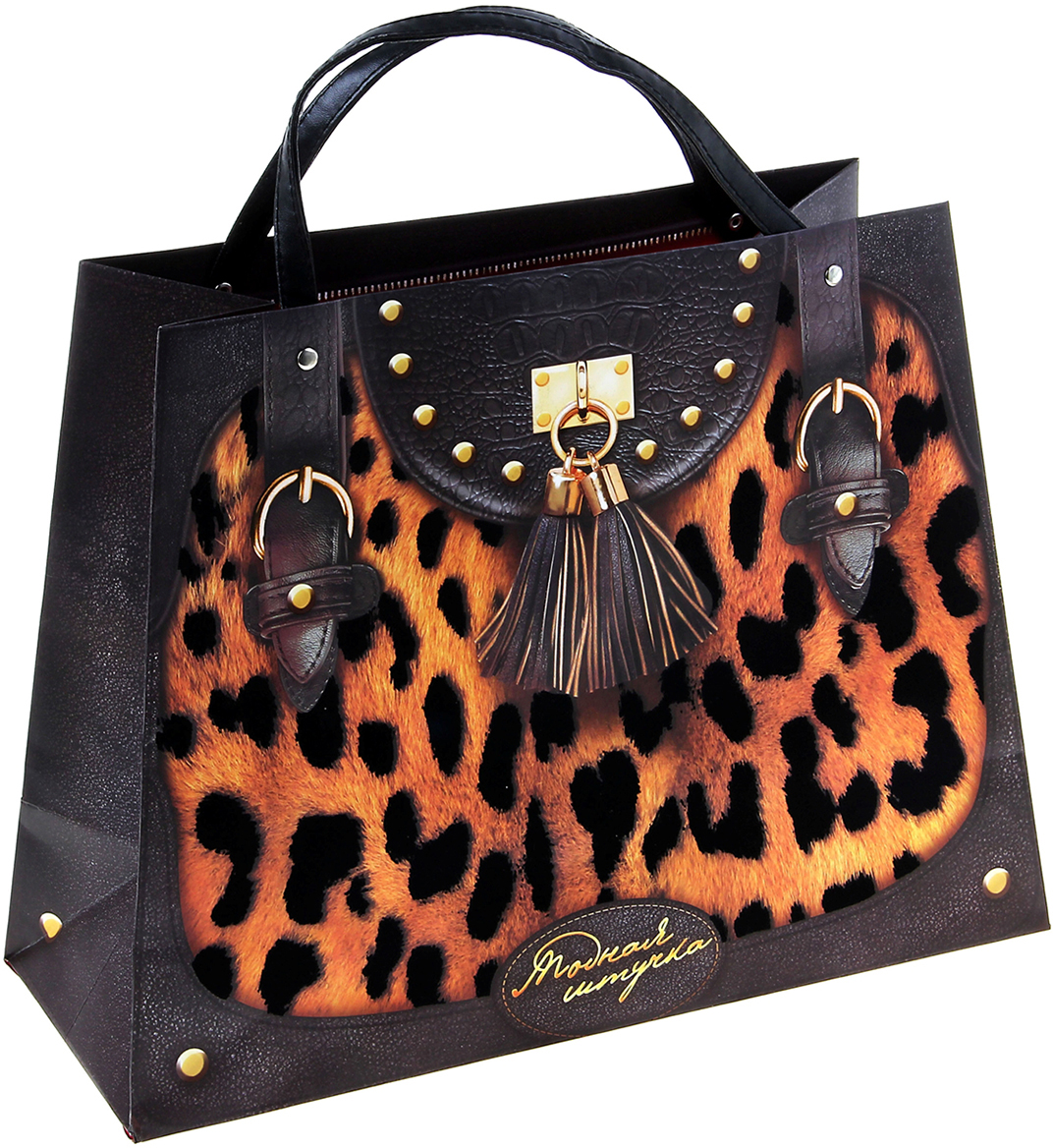 Яркие, стильные, ультрасовременные пакеты-сумки выполнены из плотного картона и декорированы прочными ручками из кожи, пластика и металлических цепочек. Специальные эффекты, используемые при печати, идеально подчеркивают фактуры ткани, кожи, меха и замши. Внутри на дне спрятан комплимент-пожелание, который будет поднимать настроение прекрасной обладательнице каждый день.