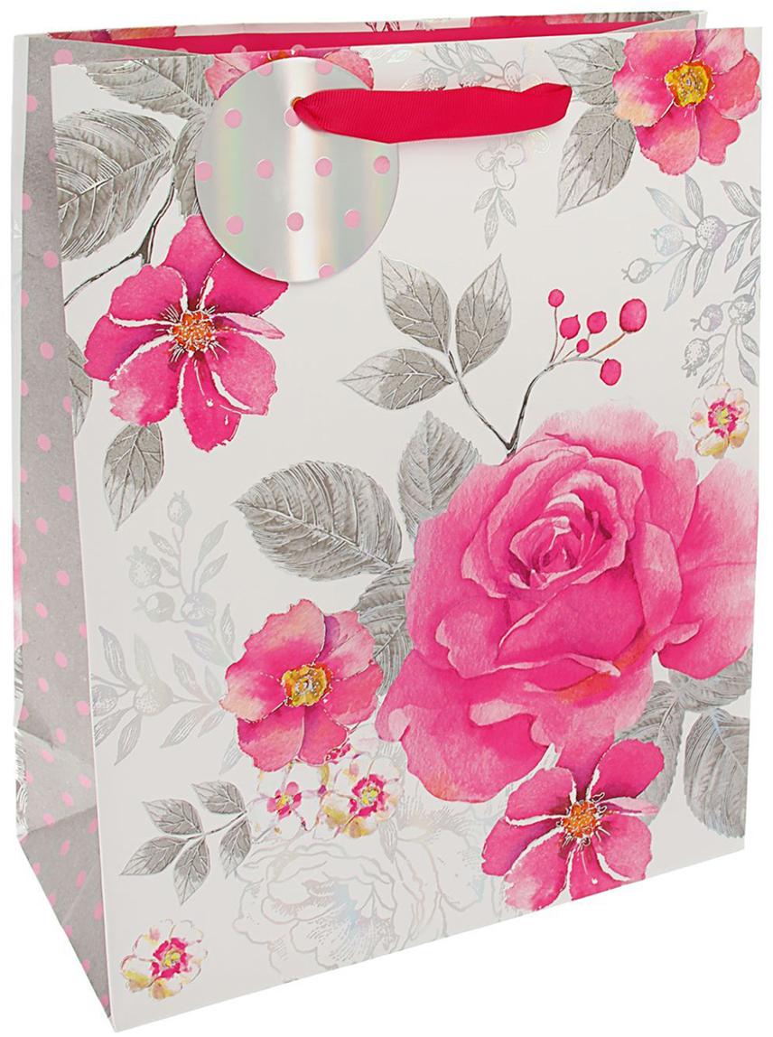 Пакет подарочный Арт и Дизайн Люкс. Совершенство, цвет: розовый, 32 х 26 х 12 см. 17594131759413Любой подарок начинается с упаковки. Что может быть трогательнее и волшебнее, чем ритуал разворачивания полученного презента. И именно оригинальная, со вкусом выбранная упаковка выделит ваш подарок из массы других. Она продемонстрирует самые теплые чувства к виновнику торжества и создаст сказочную атмосферу праздника. Пакет подарочный Совершенство люкс - это то, что вы искали.