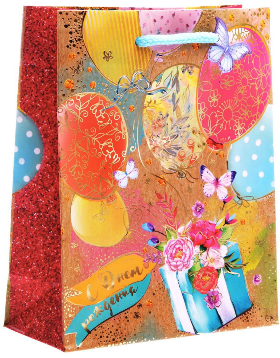 Пакет подарочный Дарите Счастье Воздушный подарок, 12 х 5,5 х 15 см1761541Любой подарок начинается с упаковки. Что может быть трогательнее и волшебнее, чем ритуал разворачивания полученного презента. И именно оригинальная, со вкусом выбранная упаковка выделит ваш подарок из массы других. Она продемонстрирует самые теплые чувства к виновнику торжества и создаст сказочную атмосферу праздника. Пакет-ламинат вертикальный с тиснением Воздушный подарок - это то, что вы искали.