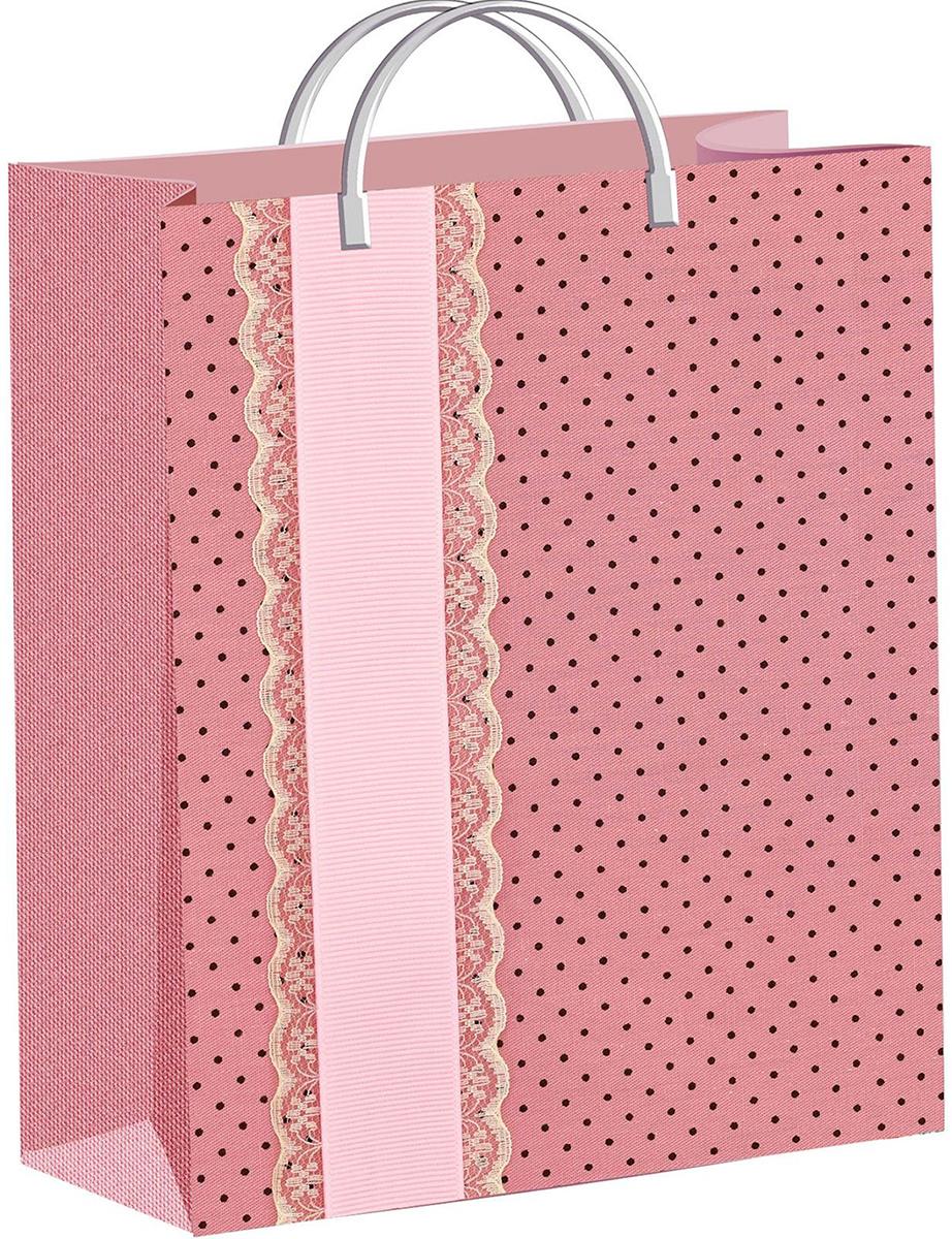 Пакет подарочный ТикоПластик Сюрприз, цвет: розовый, 40 х 30 см. 18822151882215Любой подарок начинается с упаковки. Что может быть трогательнее и волшебнее, чем ритуал разворачивания полученного презента. И именно оригинальная, со вкусом выбранная упаковка выделит ваш подарок из массы других. Она продемонстрирует самые теплые чувства к виновнику торжества и создаст сказочную атмосферу праздника - это то, что вы искали.