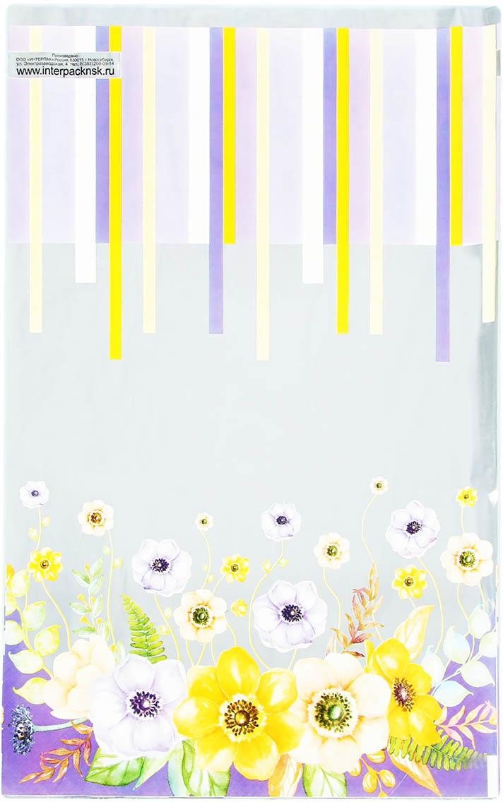 Пакет подарочный Интерпак Сиреневый туман, цвет: мультиколор, 25 х 40 см. 1925126 эдуард снежин сиреневый туман