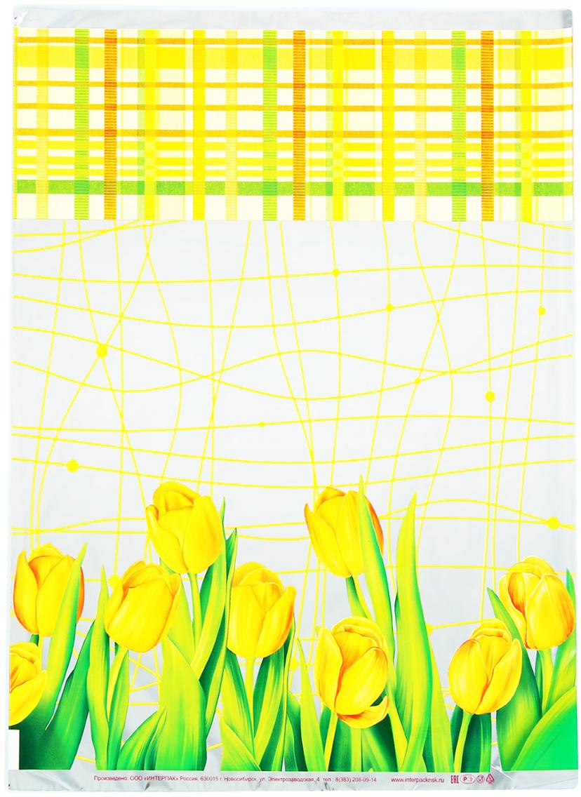 Пакет подарочный Интерпак Желтые тюльпаны, цвет: желтый, 30 х 40 см. 19251401925140Любой подарок начинается с упаковки. Что может быть трогательнее и волшебнее, чем ритуал разворачивания полученного презента. И именно оригинальная, со вкусом выбранная упаковка выделит ваш подарок из массы других. Она продемонстрирует самые теплые чувства к виновнику торжества и создаст сказочную атмосферу праздника - это то, что вы искали.