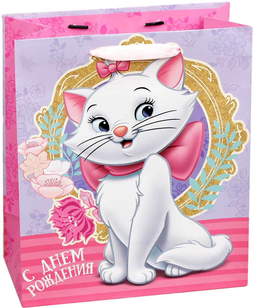 Пакет подарочный Disney Коты аристократы. С Днем рождения, красавица!, цвет: мультиколор, 18 х 10 х 23 см. 19311571931157Подарки не обязательно делать только по важным поводам. Дарите их спонтанно, без причины, просто для души, ведь главное в этом процессе - удовольствие! А сколько радости получит адресат, когда увидит яркий ламинированный пакет с любимыми героями!Прочная ламинированная бумага с атласными ручками и уникальный дизайн делают его идеальным. Положите в него конфеты или игрушки, и ваш подарок не затеряется среди других.