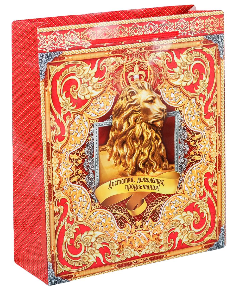 Пакет подарочный Дарите Счастье Достатка, цвет: мультиколор, 23 х 8 х 27 см. 20196952019695Любой подарок начинается с упаковки. Что может быть трогательнее и волшебнее, чем ритуал разворачивания полученного презента. И именно оригинальная, со вкусом выбранная упаковка выделит ваш подарок из массы других. Она продемонстрирует самые теплые чувства к виновнику торжества и создаст сказочную атмосферу праздника. Пакет-ламинат вертикальный Достатка - это то, что вы искали.