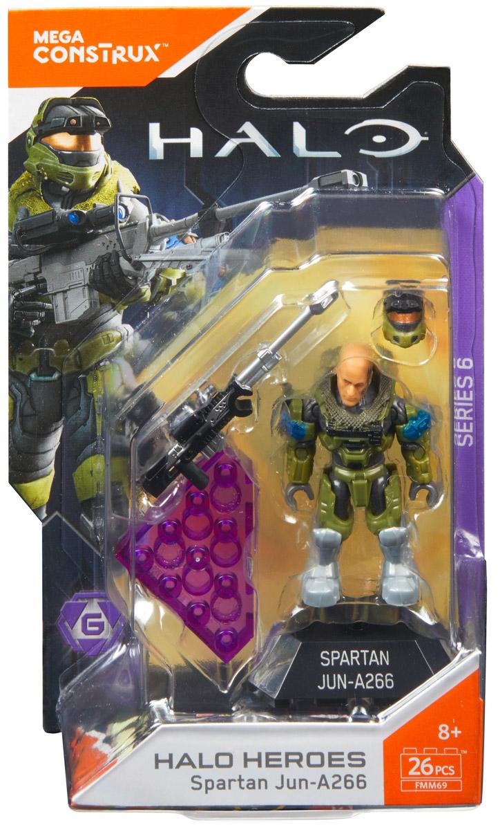 Mega Construx Halo Фигурка Heroes Spartan Jun-A266 mega construx halo фигурка heroes shipmaster let volir