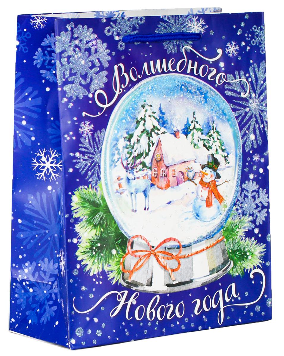 Пакет подарочный Дарите Счастье Волшебный мир, цвет: мультиколор, 12 х 5,5 х 15 см. 21139122113912Привлекательная упаковка послужит достойным украшением любого, даже самого скромного подарка. Она поможет создать интригу и продлить время предвкушения чуда - момента, когда презент окажется в руках адресата. Пакет имеет яркий, оригинальный дизайн, который обязательно понравится получателю! Изделие выполнено из плотной бумаги, благодаря чему обеспечит надежную защиту содержимого.