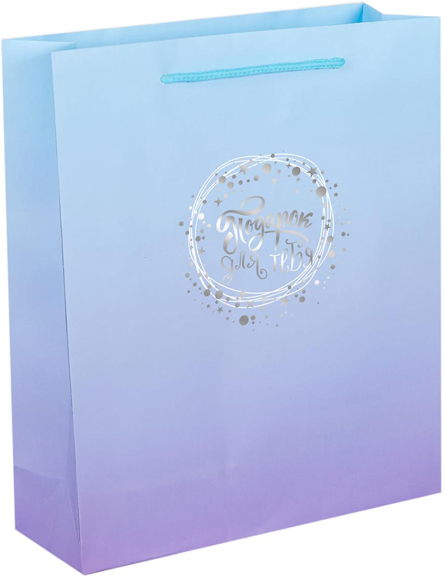 Пакет подарочный Дарите Счастье Подарок для тебя, цвет: мультиколор, 18 х 8 х 23 см. 21722682172268Ламинированные бумажные пакеты - лидеры по популярности среди подарочной упаковки. Для этого есть несколько причин:Красота - ламинированные пакеты выглядят ярко и эффектно. Прочность - он способен выдержать до 10 кг. Надежность - благодаря качественной печати рисунок не сотрется и не выгорит. Широкий выбор ламинированных пакетов позволит найти упаковку для подарка для любого повода.