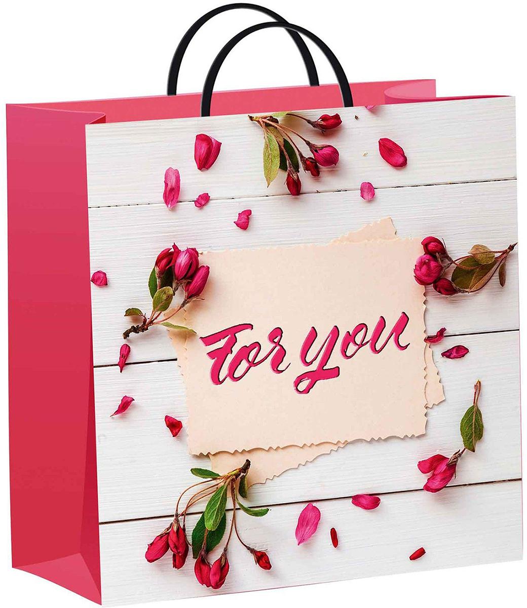 Пакет подарочный ТикоПластик Письмо для тебя, цвет: мультиколор, 30 х 30 см. 22505532250553Любой подарок начинается с упаковки. Что может быть трогательнее и волшебнее, чем ритуал разворачивания полученного презента. И именно оригинальная, со вкусом выбранная упаковка выделит ваш подарок из массы других. Она продемонстрирует самые теплые чувства к виновнику торжества и создаст сказочную атмосферу праздника - это то, что вы искали.