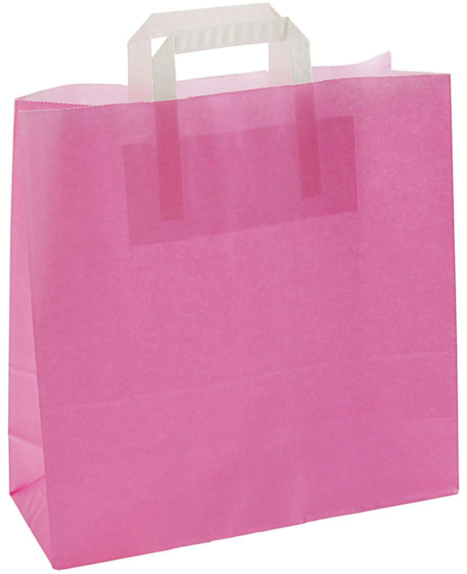 Пакет подарочный, цвет: розовый, 32 х 12 х 32 см. 24336502433650Любой подарок начинается с упаковки. Что может быть трогательнее и волшебнее, чем ритуал разворачивания полученного презента. И именно оригинальная, со вкусом выбранная упаковка выделит ваш подарок из массы других. Она продемонстрирует самые теплые чувства к виновнику торжества и создаст сказочную атмосферу праздника - это то, что вы искали.