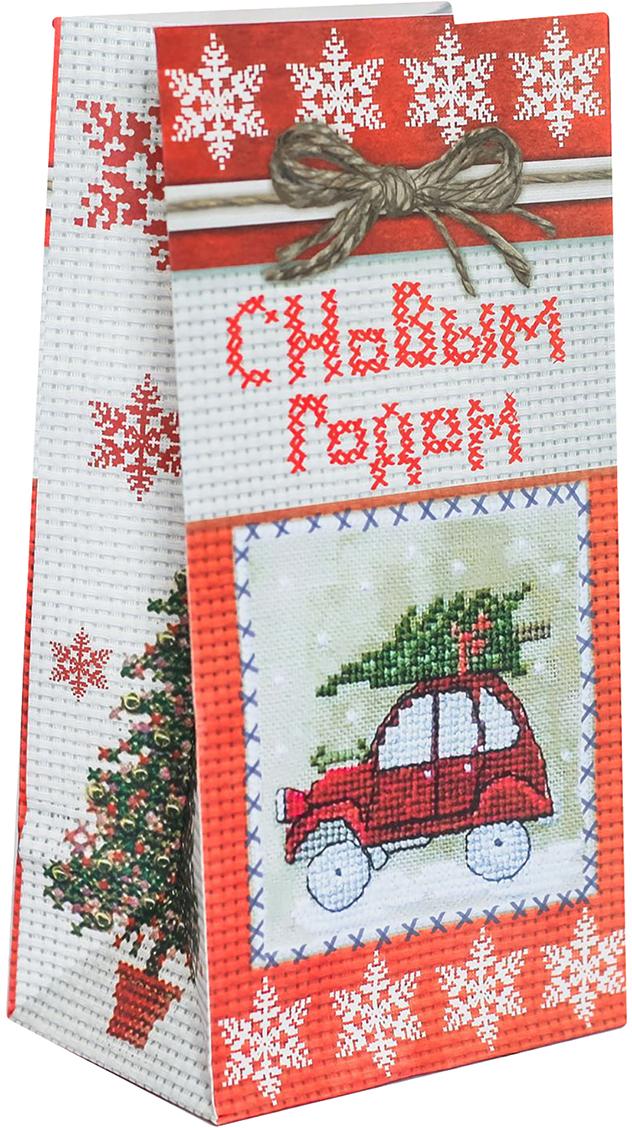 Пакет подарочный Дарите Счастье Подарок с душой, цвет: красный, 19,5 х 7 х 10 см. 24498052449805Праздничный пакетик идеально подойдет для небольшого подарка, сладостей или другого комплимента. Изделие можно закрепить клейкой лентой, прищепкой или наклейкой. Оригинальный новогодний рисунок и яркие цвета не оставят получателя равнодушным.