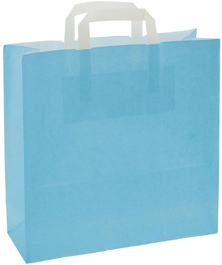 Пакет подарочный Ниагара, цвет: голубой, 32 х 12 х 32 см. 24664362466436Любой подарок начинается с упаковки. Что может быть трогательнее и волшебнее, чем ритуал разворачивания полученного презента. И именно оригинальная, со вкусом выбранная упаковка выделит ваш подарок из массы других. Она продемонстрирует самые теплые чувства к виновнику торжества и создаст сказочную атмосферу праздника - это то, что вы искали.