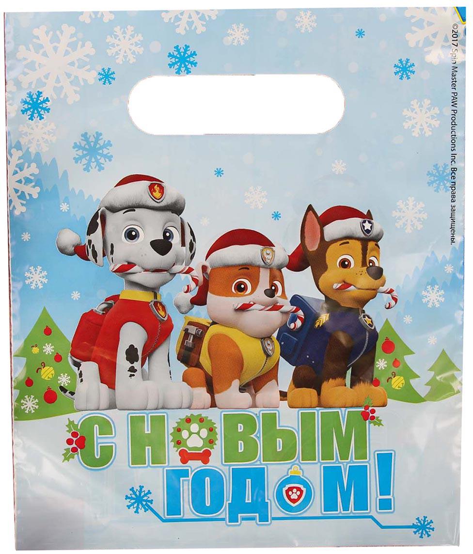Дети и взрослые будут в восторге от изображения прелестных щенков. А содержимое пакета станет еще желанней. Яркий полиэтиленовый пакет сделает подарок особенным и запоминающимся!