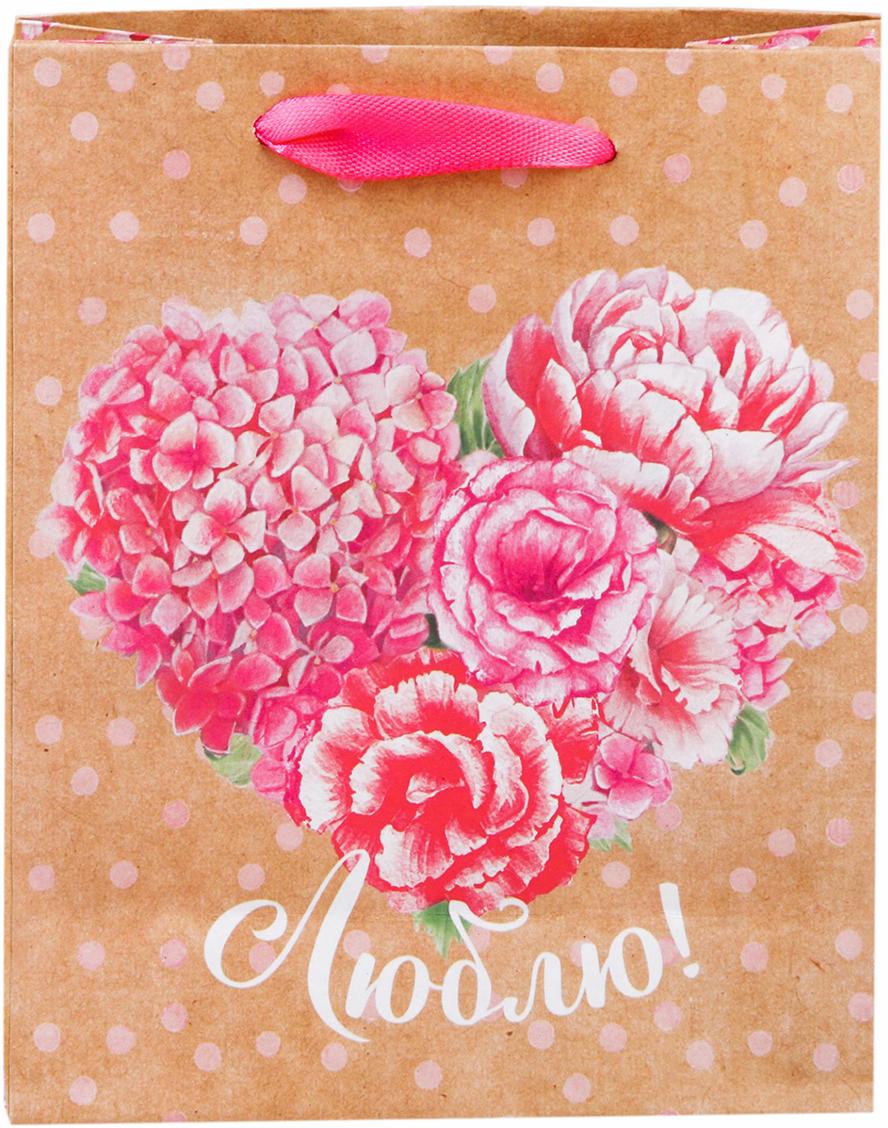 Пакет подарочный Дарите Счастье Люблю, цвет: розовый, 12 х 6 х 15 см. 26028292602829Невозможно представить нашу жизнь без праздников! Мы всегда ждем их и предвкушаем, обдумываем, как проведем памятный день, тщательно выбираем подарки и аксессуары, ведь именно они создают и поддерживают торжественный настрой - это отличный выбор, который привнесет атмосферу праздника в ваш дом!Любой подарок начинается с упаковки. Что может быть трогательнее и волшебнее, чем ритуал разворачивания полученного презента. И именно оригинальная, со вкусом выбранная упаковка выделит ваш подарок из массы других. Она продемонстрирует самые теплые чувства к виновнику торжества и создаст сказочную атмосферу праздника - это то, что вы искали.