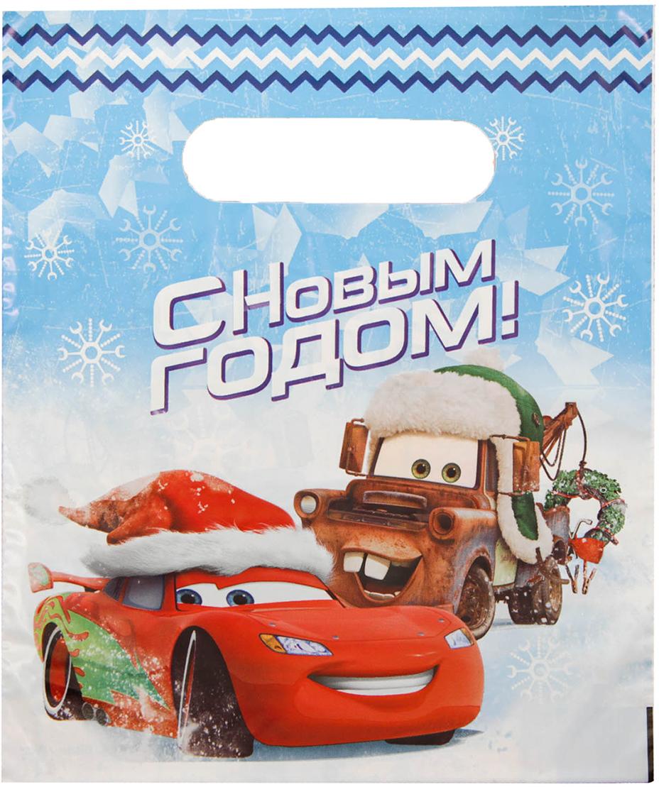 Пакет подарочный Disney Тачки, цвет: мультиколор, 17 х 20 см. 26033612603361Любой подарок начинается с упаковки. Что может быть трогательнее и волшебнее, чем ритуал разворачивания полученного презента. И именно оригинальная, со вкусом выбранная упаковка выделит ваш подарок из массы других. Она продемонстрирует самые теплые чувства к виновнику торжества и создаст сказочную атмосферу праздника - это то, что вы искали.