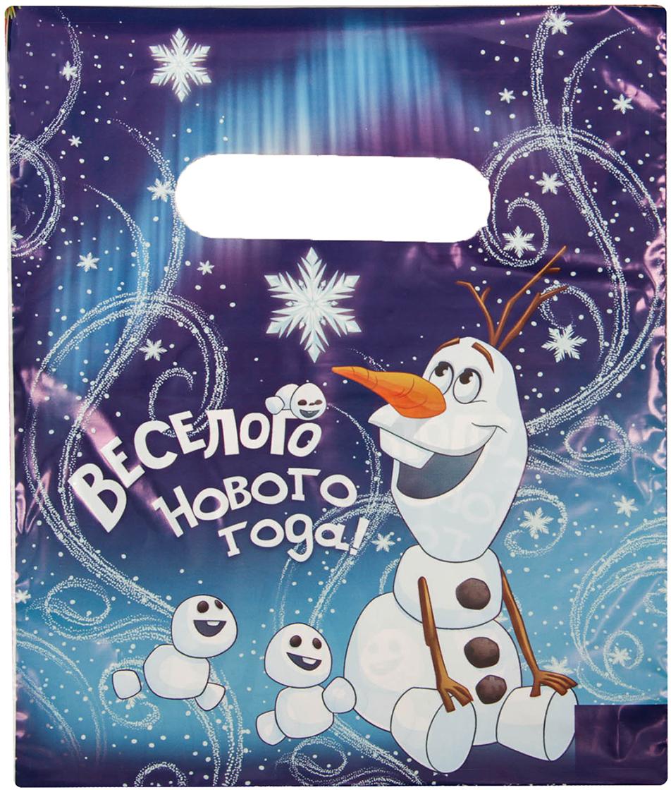 Пакет подарочный Disney Холодное сердце. Олаф, 17 х 20 см2603363Дети и взрослые будут в восторге от изображения любимых героев Disney. А содержимое пакета станет еще желанней. Яркая упаковка сделает подарок особенным и запоминающимся!