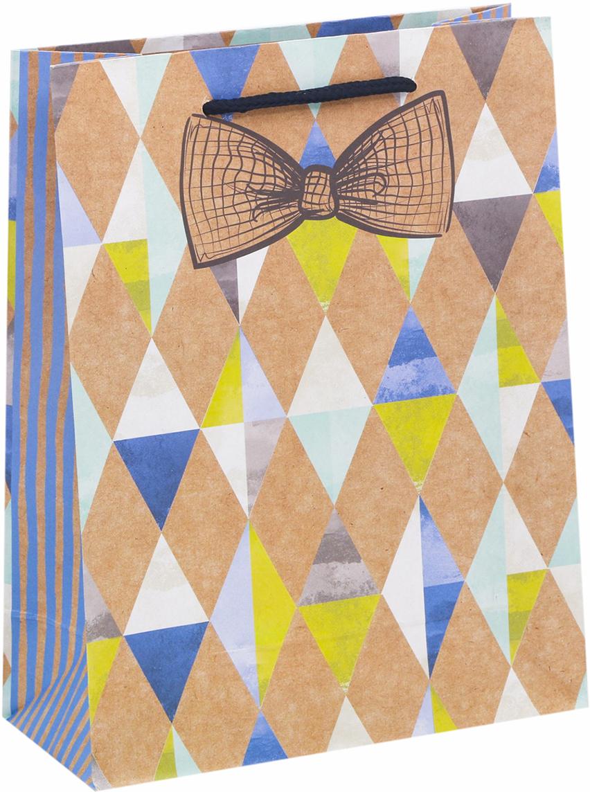 Пакет подарочный Дарите Счастье Джентельмент удачи, цвет: мультиколор, 15 х 6 х 12 см. 26051382605138Любой подарок начинается с упаковки. Что может быть трогательнее и волшебнее, чем ритуал разворачивания полученного презента. И именно оригинальная, со вкусом выбранная упаковка выделит ваш подарок из массы других. Она продемонстрирует самые теплые чувства к виновнику торжества и создаст сказочную атмосферу праздника - это то, что вы искали.