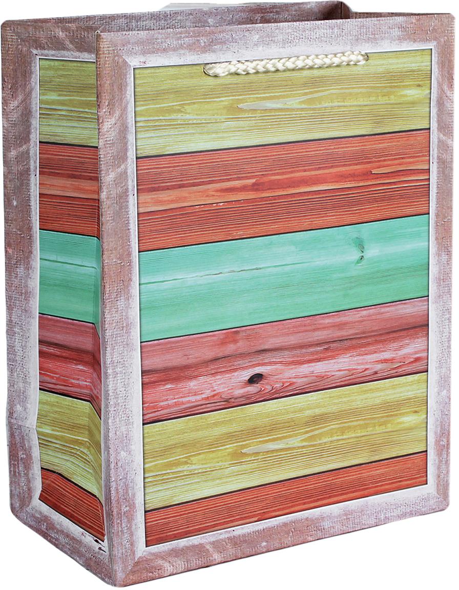 Пакет подарочный Люкс, цвет: мультиколор, 18 х 23 х 10 см. 26243932624393Любой подарок начинается с упаковки. Что может быть трогательнее и волшебнее, чем ритуал разворачивания полученного презента. И именно оригинальная, со вкусом выбранная упаковка выделит ваш подарок из массы других. Она продемонстрирует самые теплые чувства к виновнику торжества и создаст сказочную атмосферу праздника. Пакет подарочный, люкс - это то, что вы искали.