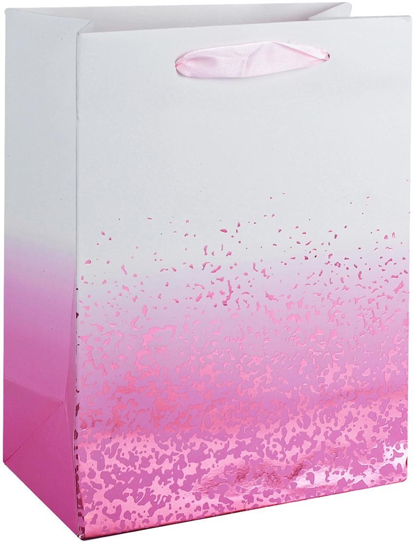 Пакет подарочный Люкс, цвет: розовый, 32 х 26 х 12 см. 26244172624417Любой подарок начинается с упаковки. Что может быть трогательнее и волшебнее, чем ритуал разворачивания полученного презента. И именно оригинальная, со вкусом выбранная упаковка выделит ваш подарок из массы других. Она продемонстрирует самые теплые чувства к виновнику торжества и создаст сказочную атмосферу праздника. Пакет подарочный, люкс - это то, что вы искали.