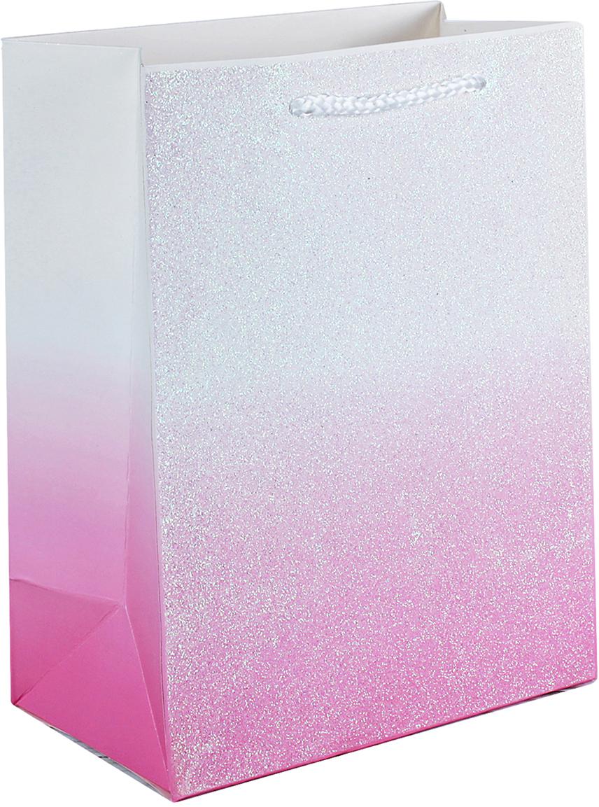Пакет подарочный Люкс, цвет: розовый, 32 х 26 х 12 см. 26244232624423Любой подарок начинается с упаковки. Что может быть трогательнее и волшебнее, чем ритуал разворачивания полученного презента. И именно оригинальная, со вкусом выбранная упаковка выделит ваш подарок из массы других. Она продемонстрирует самые теплые чувства к виновнику торжества и создаст сказочную атмосферу праздника. Пакет подарочный, люкс - это то, что вы искали.