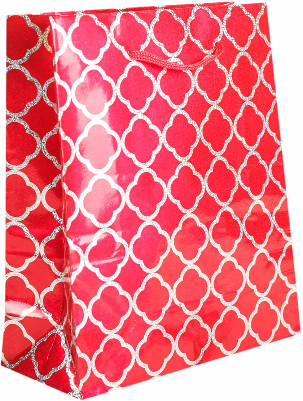 Пакет подарочный, голографический, цвет: красный, 14,5 х 11,5 х 6,5 см. 26251962625196Любой подарок начинается с упаковки. Что может быть трогательнее и волшебнее, чем ритуал разворачивания полученного презента. И именно оригинальная, со вкусом выбранная упаковка выделит ваш подарок из массы других. Она продемонстрирует самые теплые чувства к виновнику торжества и создаст сказочную атмосферу праздника. Пакет голографический - это то, что вы искали.