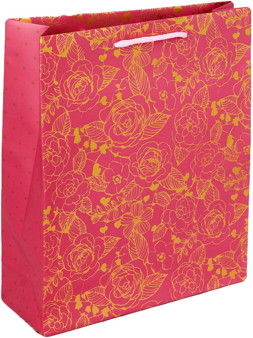 Пакет подарочный Дарите Счастье Самой чудесной!, цвет: мультиколор, 23 х 8 х 27 см. 26343082634308Любой подарок начинается с упаковки. Что может быть трогательнее и волшебнее, чем ритуал разворачивания полученного презента. И именно оригинальная, со вкусом выбранная упаковка выделит ваш подарок из массы других. Она продемонстрирует самые теплые чувства к виновнику торжества и создаст сказочную атмосферу праздника - это то, что вы искали.
