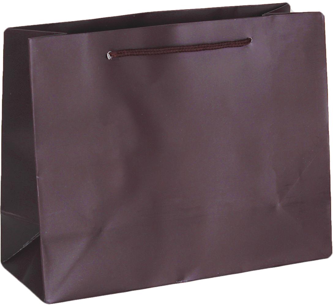 Пакет подарочный Люкс, цвет: коричневый, 24,5 х 19,5 х 9,5 см. 26544612654461Любой подарок начинается с упаковки. Что может быть трогательнее и волшебнее, чем ритуал разворачивания полученного презента. И именно оригинальная, со вкусом выбранная упаковка выделит ваш подарок из массы других. Она продемонстрирует самые теплые чувства к виновнику торжества и создаст сказочную атмосферу праздника. Пакет подарочный, люкс - это то, что вы искали.