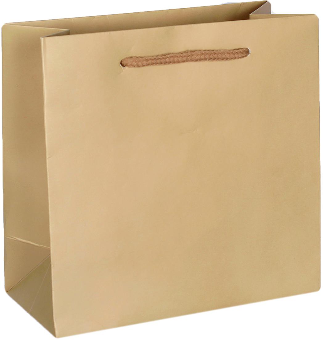 Пакет подарочный Люкс, цвет: золотой, 15 х 14,5 х 7 см. 26544672654467Любой подарок начинается с упаковки. Что может быть трогательнее и волшебнее, чем ритуал разворачивания полученного презента. И именно оригинальная, со вкусом выбранная упаковка выделит ваш подарок из массы других. Она продемонстрирует самые теплые чувства к виновнику торжества и создаст сказочную атмосферу праздника. Пакет подарочный, люкс - это то, что вы искали.