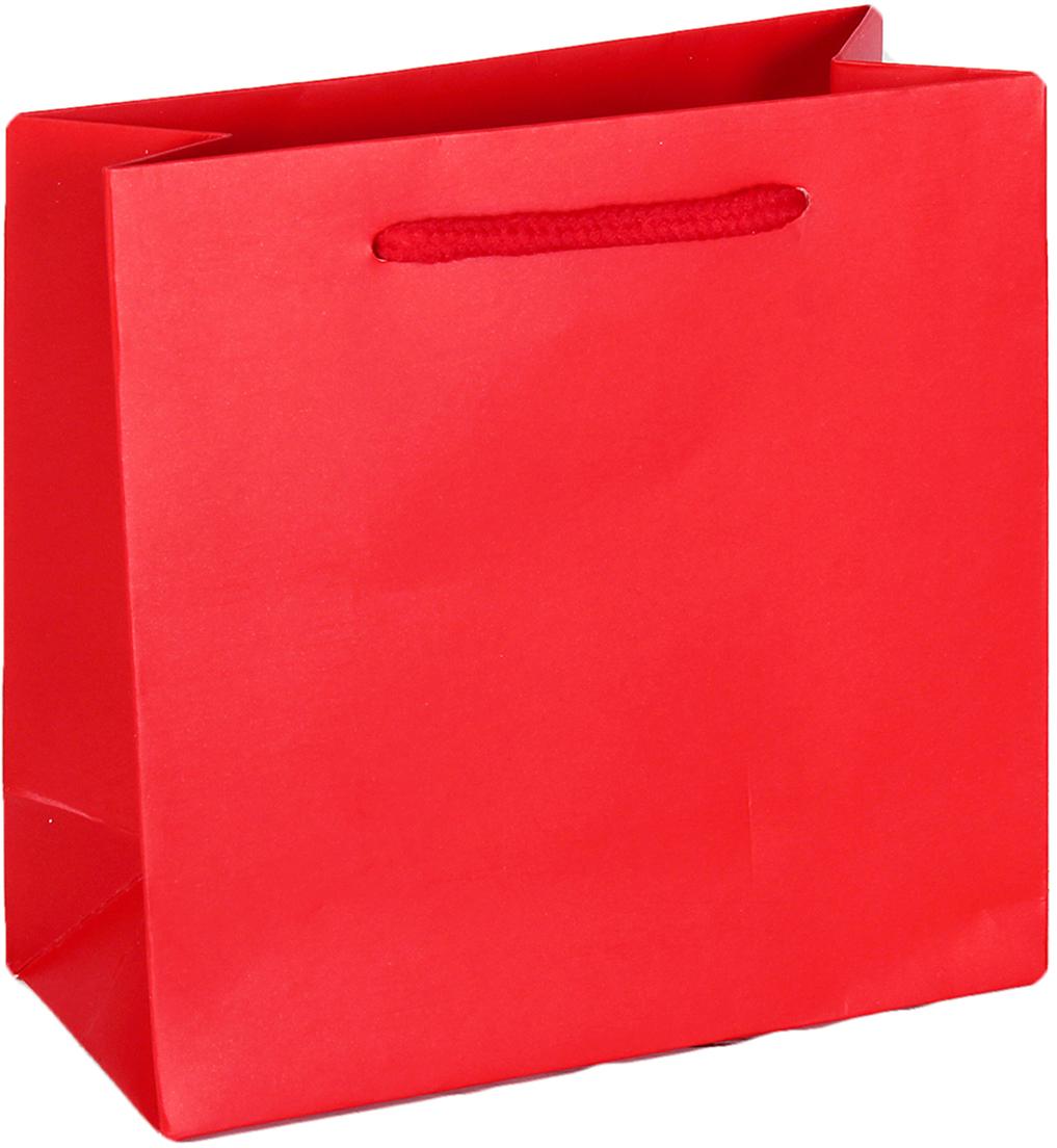 Пакет подарочный Люкс, цвет: красный, 15 х 14,5 х 7 см. 26544712654471Любой подарок начинается с упаковки. Что может быть трогательнее и волшебнее, чем ритуал разворачивания полученного презента. И именно оригинальная, со вкусом выбранная упаковка выделит ваш подарок из массы других. Она продемонстрирует самые теплые чувства к виновнику торжества и создаст сказочную атмосферу праздника. Пакет подарочный - это то, что вы искали.