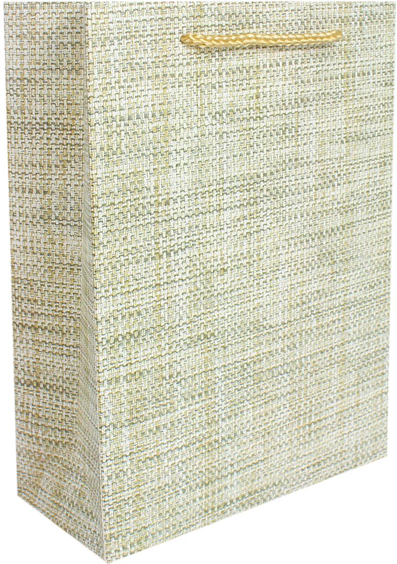 Пакет подарочный Люкс. Лен, цвет: бежевый, 18 х 24 х 8 см. 26710882671088Любой подарок начинается с упаковки. Что может быть трогательнее и волшебнее, чем ритуал разворачивания полученного презента. И именно оригинальная, со вкусом выбранная упаковка выделит ваш подарок из массы других. Она продемонстрирует самые теплые чувства к виновнику торжества и создаст сказочную атмосферу праздника. Пакет подарочный Лен - это то, что вы искали.