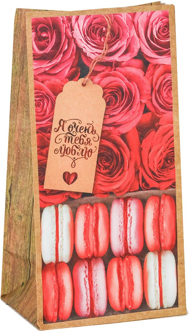 Пакетик идеально подойдет для небольшого подарка, сладостей или другого комплимента. Изделие можно закрепить клейкой лентой, прищепкой или наклейкой. Пакетик изготовлен из крафтовой бумаги. Хорошо держит форму.
