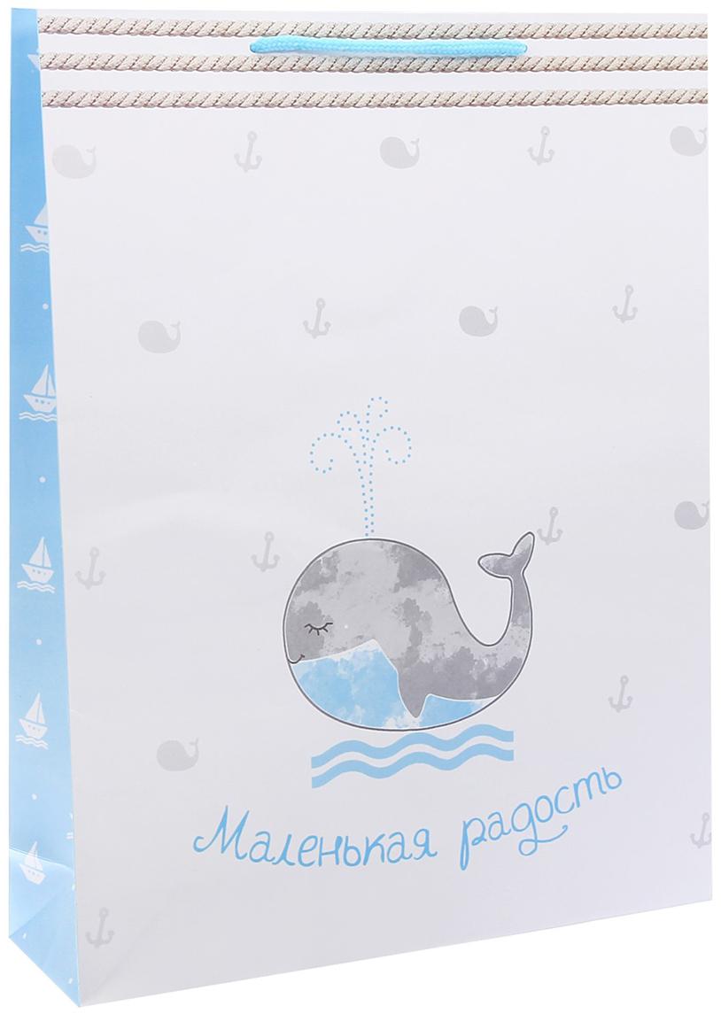 Пакет подарочный Дарите Счастье Маленькая радость, цвет: мультиколор, 31 х 9 х 40 см. 27266462726646Любой подарок начинается с упаковки. Что может быть трогательнее и волшебнее, чем ритуал разворачивания полученного презента. И именно оригинальная, со вкусом выбранная упаковка выделит ваш подарок из массы других. Она продемонстрирует самые теплые чувства к виновнику торжества и создаст сказочную атмосферу праздника - это то, что вы искали.