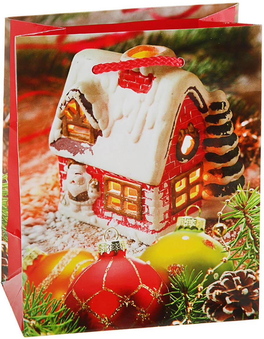 Пакет подарочный Арт и Дизайн Сказочный домик, цвет: мультиколор, 14,5 х 11,5 х 6,5 см. 27267432726743Любой подарок начинается с упаковки. Что может быть трогательнее и волшебнее, чем ритуал разворачивания полученного презента. И именно оригинальная, со вкусом выбранная упаковка выделит ваш подарок из массы других. Она продемонстрирует самые теплые чувства к виновнику торжества и создаст сказочную атмосферу праздника - это то, что вы искали. Невозможно представить нашу жизнь без праздников! Мы всегда ждем их и предвкушаем, обдумываем, как проведем памятный день, тщательно выбираем подарки и аксессуары, ведь именно они создают и поддерживают торжественный настрой - это отличный выбор, который привнесет атмосферу праздника в ваш дом!