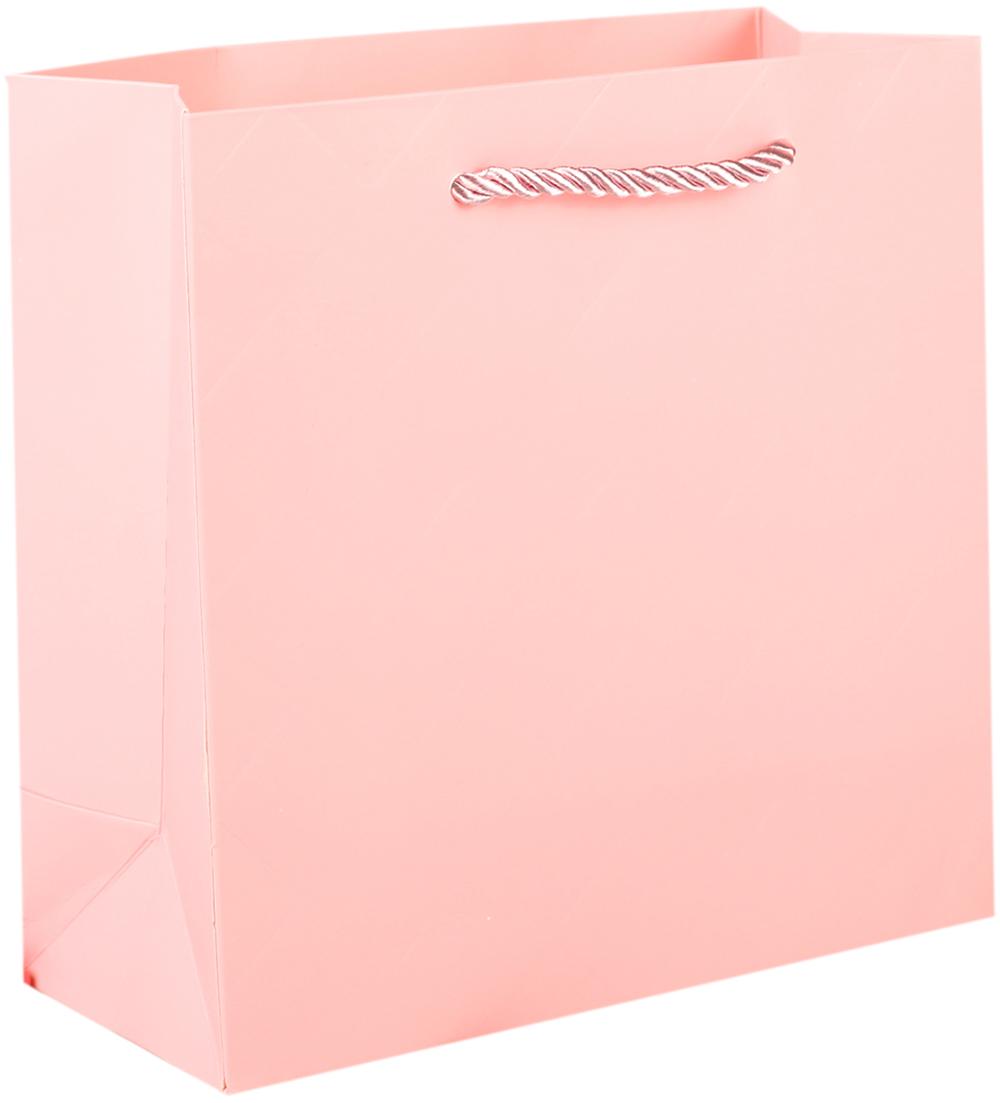 Пакет подарочный, цвет: розовый, 20 х 20 х 9 см. 27497062749706Любой подарок начинается с упаковки. Что может быть трогательнее и волшебнее, чем ритуал разворачивания полученного презента. И именно оригинальная, со вкусом выбранная упаковка выделит ваш подарок из массы других. Она продемонстрирует самые теплые чувства к виновнику торжества и создаст сказочную атмосферу праздника. Пакет подарочный - это то, что вы искали.