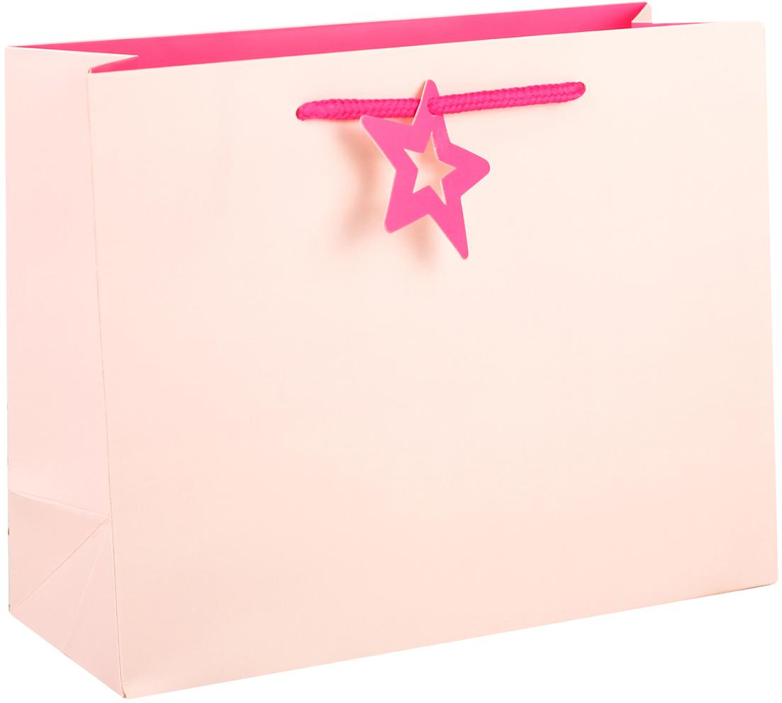 Пакет подарочный, цвет: розовый, 32 х 25,5 х 11 см. 27497312749731Любой подарок начинается с упаковки. Что может быть трогательнее и волшебнее, чем ритуал разворачивания полученного презента. И именно оригинальная, со вкусом выбранная упаковка выделит ваш подарок из массы других. Она продемонстрирует самые теплые чувства к виновнику торжества и создаст сказочную атмосферу праздника. Пакет подарочный - это то, что вы искали.