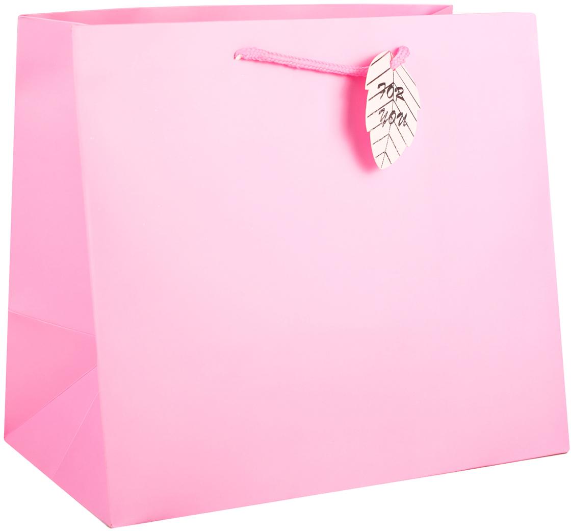 Пакет подарочный, цвет: розовый, 30,5 х 27 х 18 см. 27497782749778Любой подарок начинается с упаковки. Что может быть трогательнее и волшебнее, чем ритуал разворачивания полученного презента. И именно оригинальная, со вкусом выбранная упаковка выделит ваш подарок из массы других. Она продемонстрирует самые теплые чувства к виновнику торжества и создаст сказочную атмосферу праздника. Пакет подарочный - это то, что вы искали.