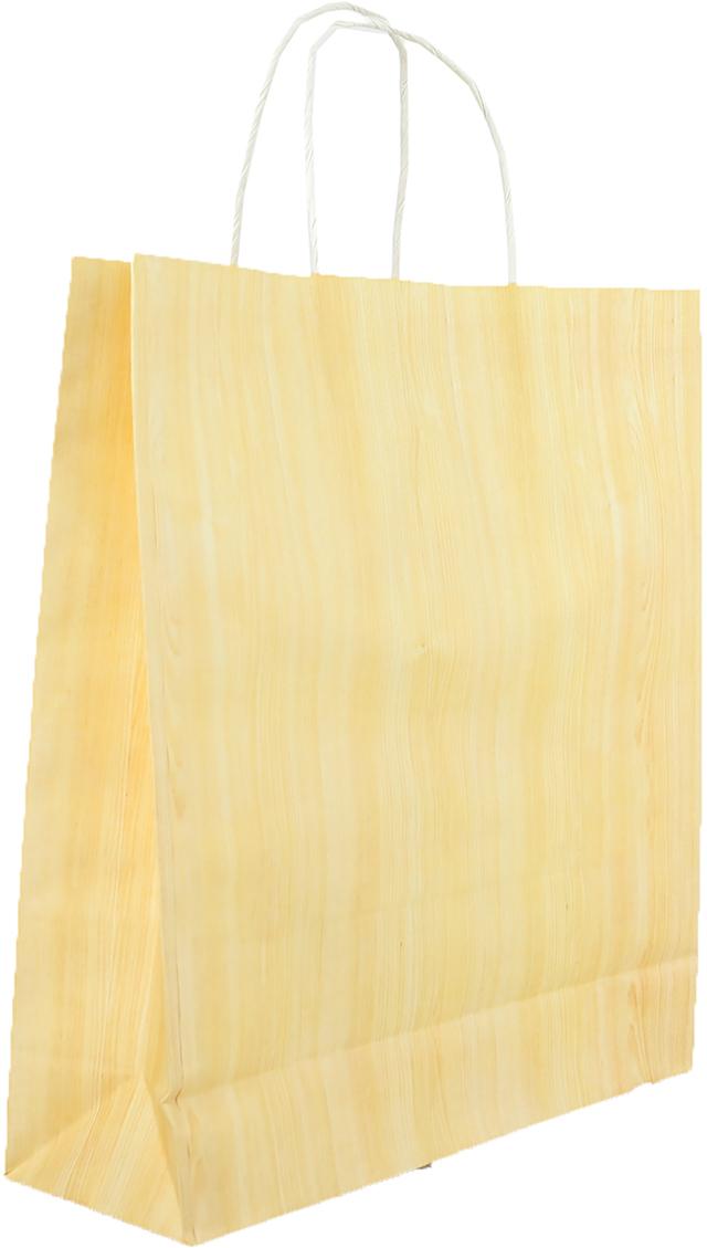 Пакет подарочный, цвет: бежевый, 29 х 10 х 32 см. 27697522769752Любой подарок начинается с упаковки. Что может быть трогательнее и волшебнее, чем ритуал разворачивания полученного презента. И именно оригинальная, со вкусом выбранная упаковка выделит ваш подарок из массы других. Она продемонстрирует самые теплые чувства к виновнику торжества и создаст сказочную атмосферу праздника. Пакет-крафт - это то, что вы искали.