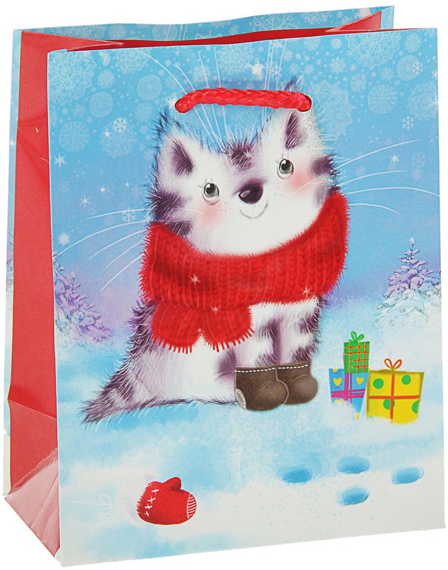 Пакет подарочный Арт и Дизайн Зверек, цвет: мультиколор, 14,5 х 11,5 х 6,5 см. 27988342798834Любой подарок начинается с упаковки. Что может быть трогательнее и волшебнее, чем ритуал разворачивания полученного презента. И именно оригинальная, со вкусом выбранная упаковка выделит ваш подарок из массы других. Она продемонстрирует самые теплые чувства к виновнику торжества и создаст сказочную атмосферу праздника - это то, что вы искали. Невозможно представить нашу жизнь без праздников! Мы всегда ждем их и предвкушаем, обдумываем, как проведем памятный день, тщательно выбираем подарки и аксессуары, ведь именно они создают и поддерживают торжественный настрой - это отличный выбор, который привнесет атмосферу праздника в ваш дом!