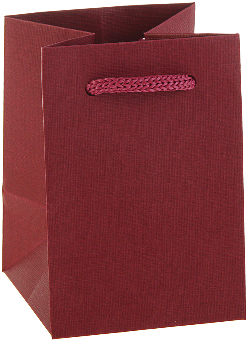 Пакет подарочный, цвет: бордовый, 10 х 7 х 4 см. 28306032830603Любой подарок начинается с упаковки. Что может быть трогательнее и волшебнее, чем ритуал разворачивания полученного презента. И именно оригинальная, со вкусом выбранная упаковка выделит ваш подарок из массы других. Она продемонстрирует самые теплые чувства к виновнику торжества и создаст сказочную атмосферу праздника - это то, что вы искали.