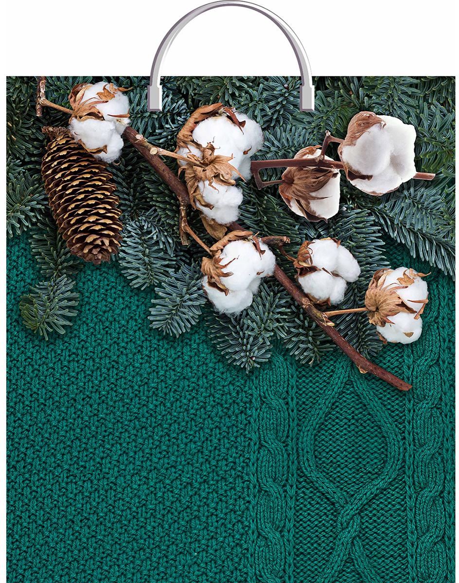 Пакет подарочный ТикоПластик Теплая композиция, цвет: зеленый, 40 х 44 см. 30326003032600Любой подарок начинается с упаковки. Что может быть трогательнее и волшебнее, чем ритуал разворачивания полученного презента. И именно оригинальная, со вкусом выбранная упаковка выделит ваш подарок из массы других. Она продемонстрирует самые теплые чувства к виновнику торжества и создаст сказочную атмосферу праздника - это то, что вы искали. Невозможно представить нашу жизнь без праздников! Мы всегда ждем их и предвкушаем, обдумываем, как проведем памятный день, тщательно выбираем подарки и аксессуары, ведь именно они создают и поддерживают торжественный настрой - это отличный выбор, который привнесет атмосферу праздника в ваш дом!