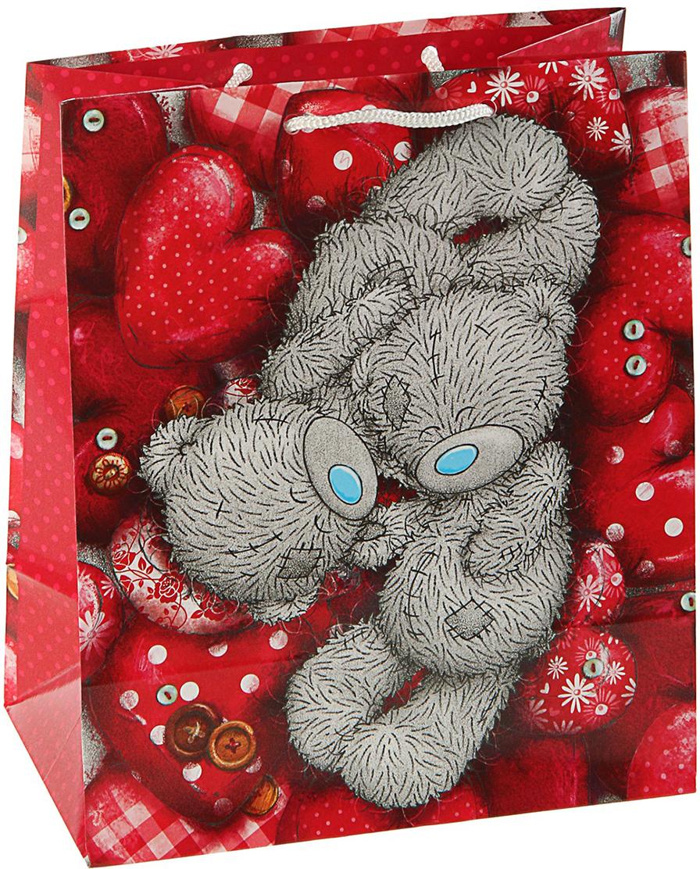 Пакет подарочный Me to You Тебе, цвет: мультиколор, 36 х 26 х 11,5 см. 30922143092214Любой подарок начинается с упаковки. Что может быть трогательнее и волшебнее, чем ритуал разворачивания полученного презента. И именно оригинальная, со вкусом выбранная упаковка выделит ваш подарок из массы других. Она продемонстрирует самые теплые чувства к виновнику торжества и создаст сказочную атмосферу праздника. Пакет подарочный Тебе - это то, что вы искали.