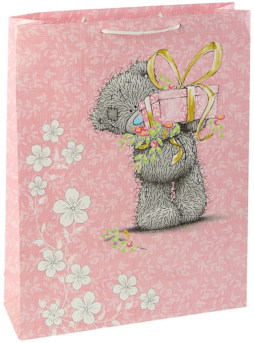 Пакет подарочный Me to You Для тебя, цвет: мультиколор, 42,5 х 33 х 10 см. 30922463092246Любой подарок начинается с упаковки. Что может быть трогательнее и волшебнее, чем ритуал разворачивания полученного презента. И именно оригинальная, со вкусом выбранная упаковка выделит ваш подарок из массы других. Она продемонстрирует самые теплые чувства к виновнику торжества и создаст сказочную атмосферу праздника. Пакет подарочный Для тебя - это то, что вы искали.