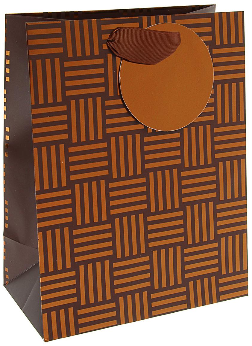 Пакет подарочный Арт и Дизайн Люкс. Арабеска, цвет: мультиколор, 23 х 17,8 х 9,8 см. 30922743092274Любой подарок начинается с упаковки. Что может быть трогательнее и волшебнее, чем ритуал разворачивания полученного презента. И именно оригинальная, со вкусом выбранная упаковка выделит ваш подарок из массы других. Она продемонстрирует самые теплые чувства к виновнику торжества и создаст сказочную атмосферу праздника. Пакет подарочный Арабеска люкс - это то, что вы искали.