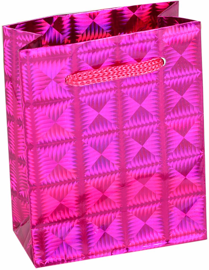 Пакет подарочный Рисунок, голографический, цвет: розовый, 8 х 4 х 10 см. 817952817952Любой подарок начинается с упаковки. Что может быть трогательнее и волшебнее, чем ритуал разворачивания полученного презента. И именно оригинальная, со вкусом выбранная упаковка выделит ваш подарок из массы других. Она продемонстрирует самые теплые чувства к виновнику торжества и создаст сказочную атмосферу праздника. Пакет голографический - это то, что вы искали.