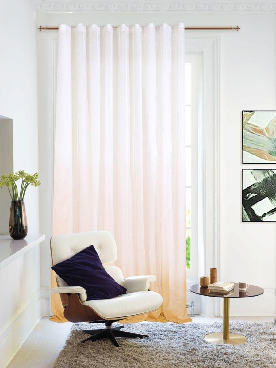 Изящная тюлевая штора для гостиной Garden, выполнена из легкой ткани с оригинальным узором. Приятная текстура и цвет привлекут к себе внимание и органично впишутся в интерьер помещения. Штора крепится на карниз при помощи ленты, которая поможет красиво и равномерно задрапировать верх.